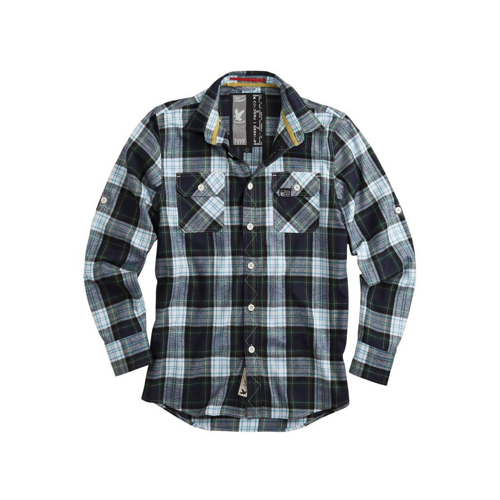 lumberjack shirt blue