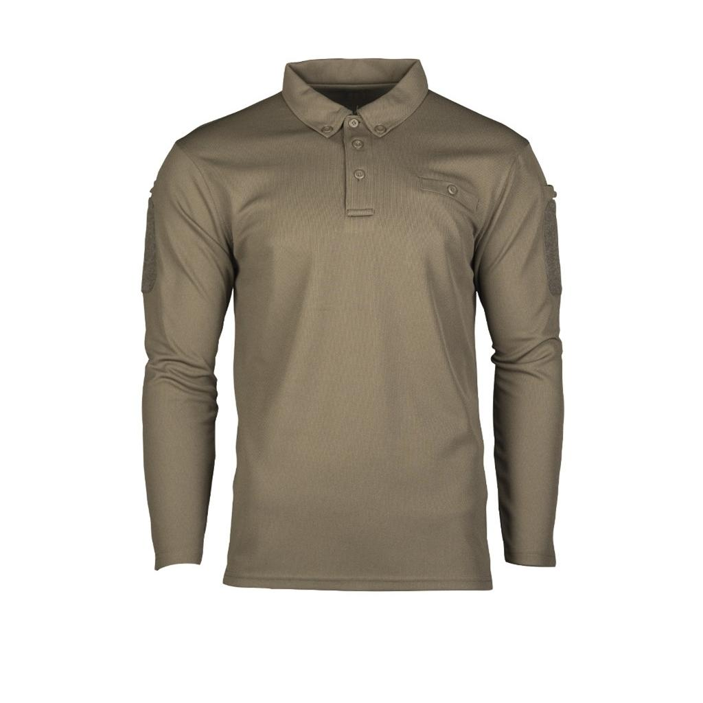 Mil-Tec Tactical Quickdry Polo Negro